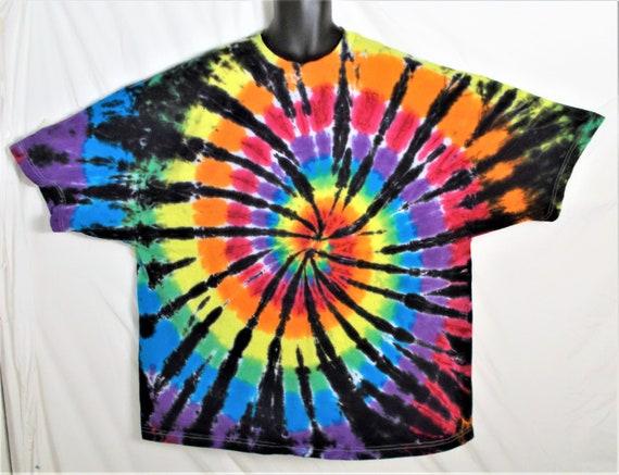 e7082d01 6XL Tie Dye Shirt Plus size Festival Clothing 6X Hippie Top | Etsy