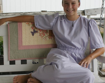 Amish Woman's Costume Basic Outfit Dress Apron cap covering Authentic! The Farmer's Wife