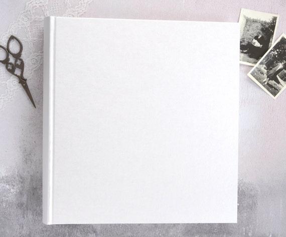 Large Ivory Wedding Photograph Album Traditional Book Bound Etsy