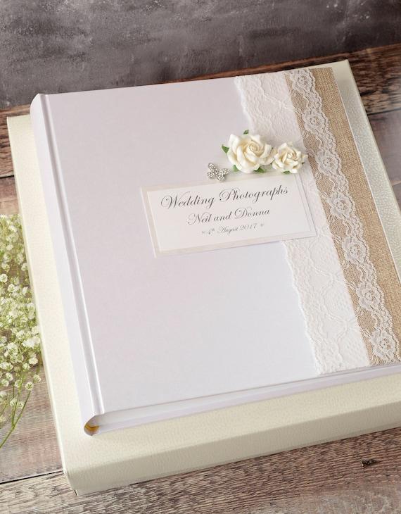 "In loving memory 300 6x4/"" photos personalised large luxury photo album"