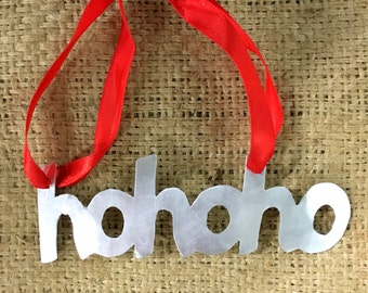 Tin HoHoHo Ornament b63f7b2cb