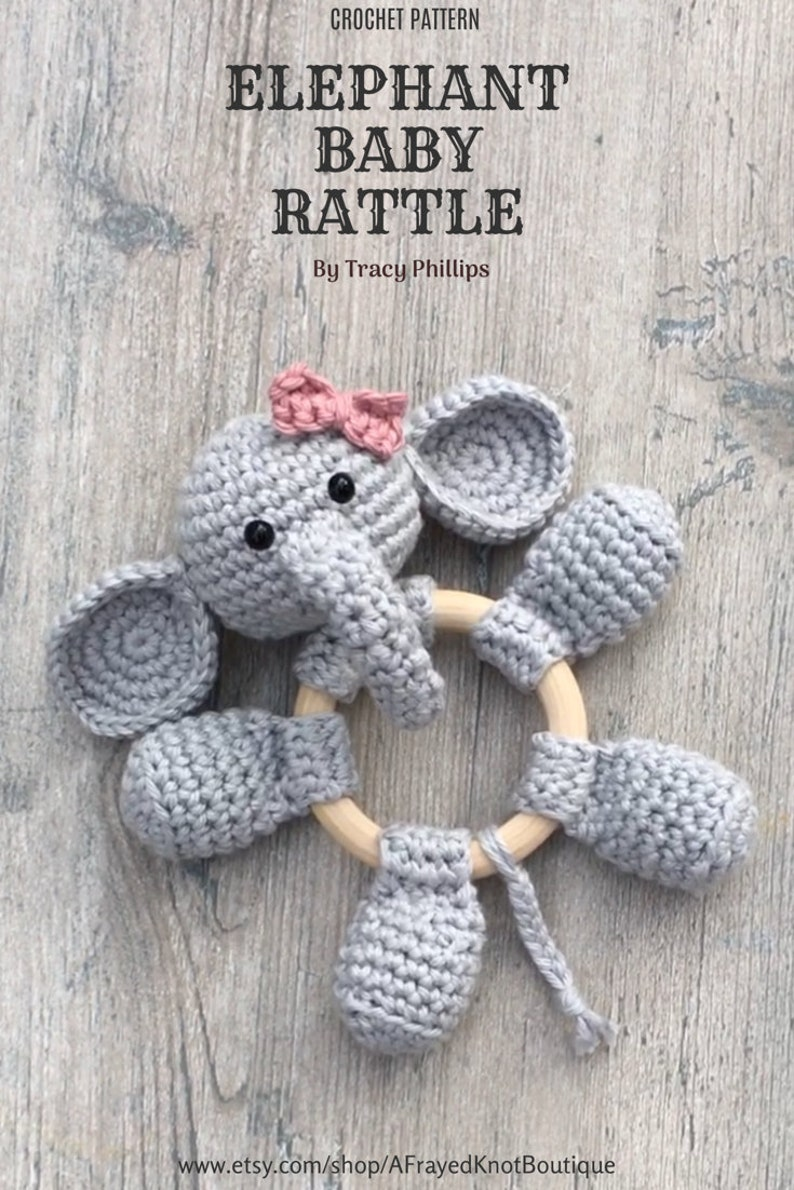 Baby Rattle Crochet Patterns – Cute Gifts - A More Crafty Life | 1190x794