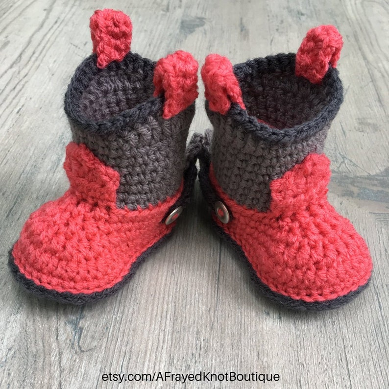 Cowboy Booties With Spurs Baby Cowboy Boots Baby Cowboy Etsy