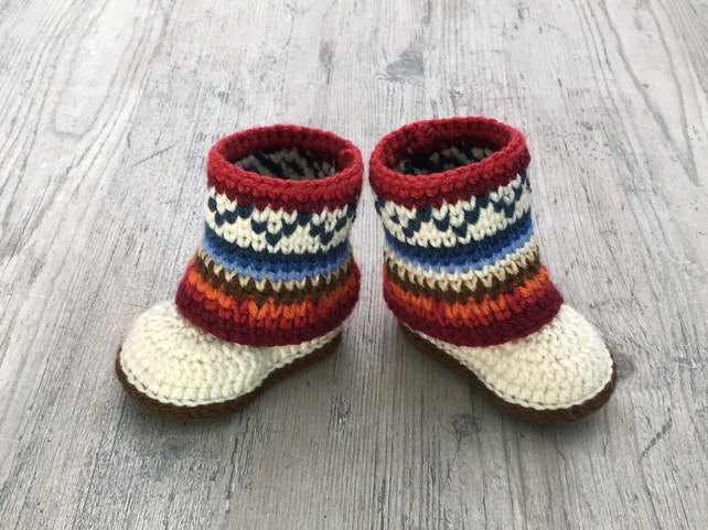 Baby Mukluks Pattern Mukluk Baby Boots Mini Mukluk Booties Etsy