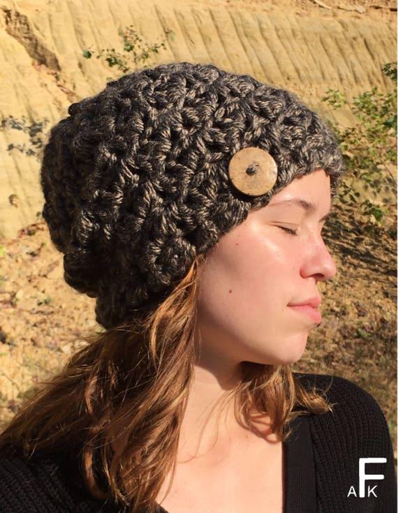 Easy Slouch Hat Crochet Pattern  Easy Slouchy Hat Pattern   967c713da94