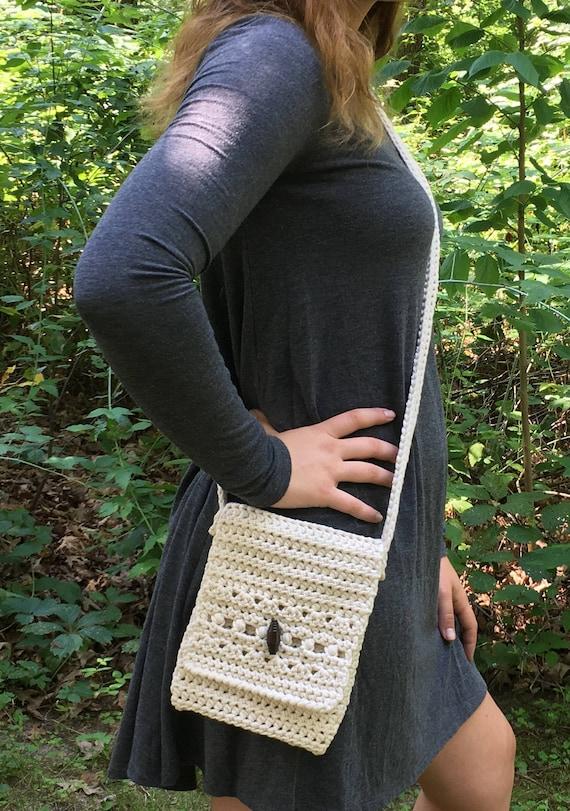 Easy Cross Body Bag Pattern Crochet Pattern Crossbody Purse Etsy