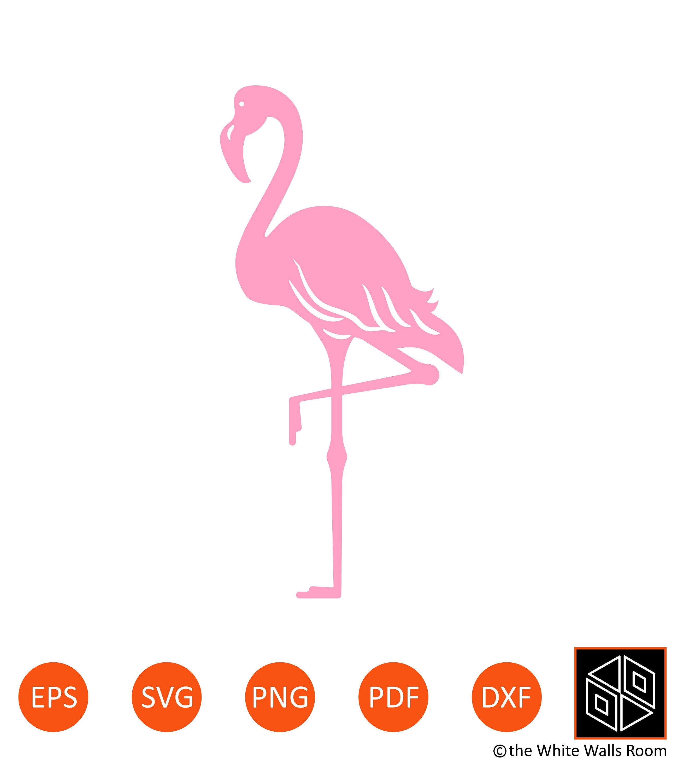 Download Flamingo SVG Pink Flamingo Silhouette Flamingo Clip Art | Etsy