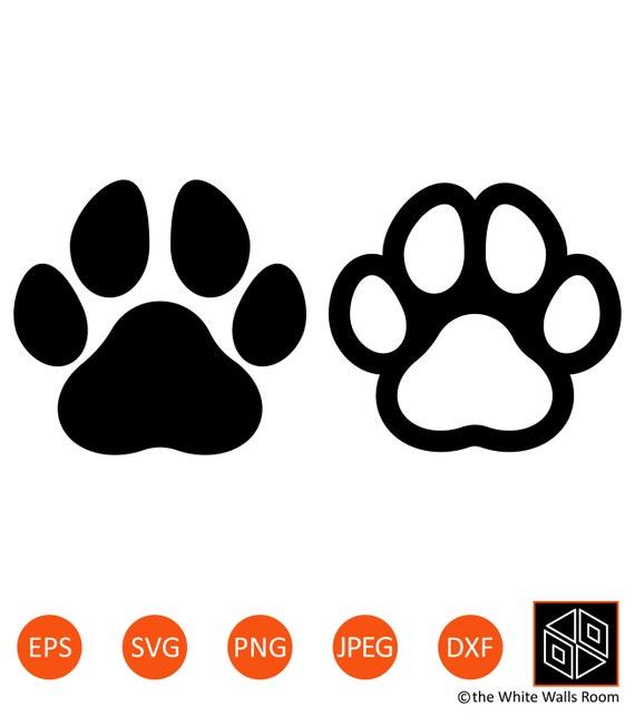 Svg Files for Cricut Paw Svg Dog Paw Svg Paw Cut File Cat Paw Svg Bear Paw Svg Paw Silhouette
