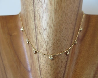 "The ""Amor"" Choker in 14k Gold Filled"