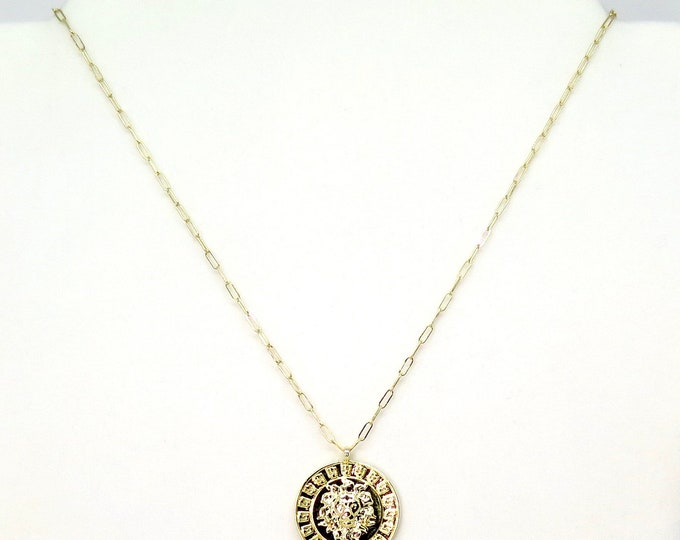 "The ""Sophie"" 18"" 14k gold filled charm necklace"
