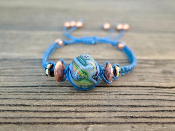 "Single ""Mermaid"" Shambhala bracelet"
