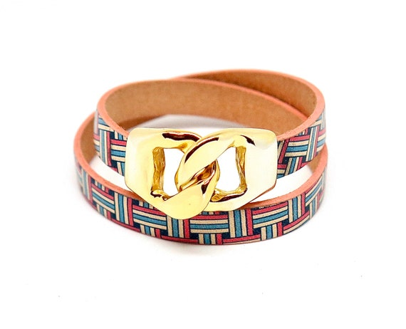 "14 1/2"" European double wrapped bracelet"