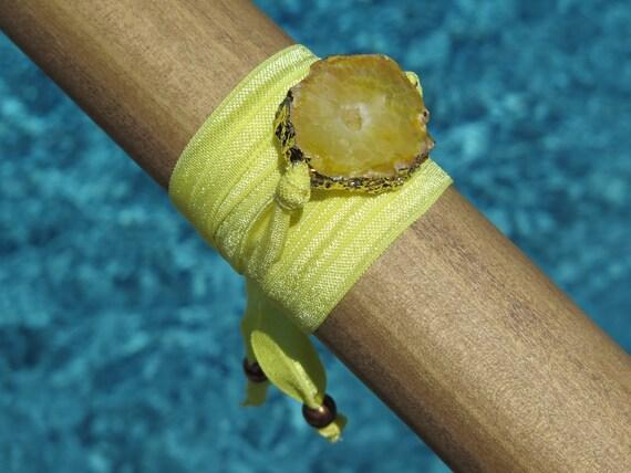 """40"""" Wrap Geode Bracelet"""