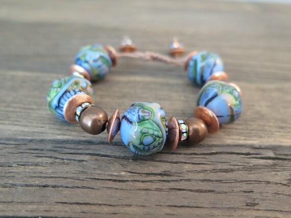 "The ""Mermaid"" Shambhala (Mood bracelet)"