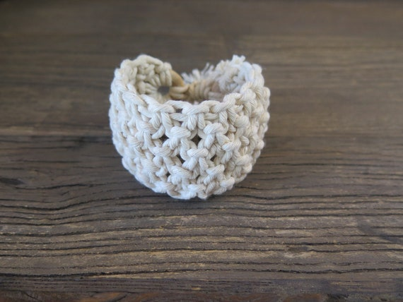 Hand knotted 100% cotton Shambahla bracelet