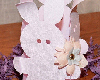 Easter Cut File SVG Easter Bunny Treat Box