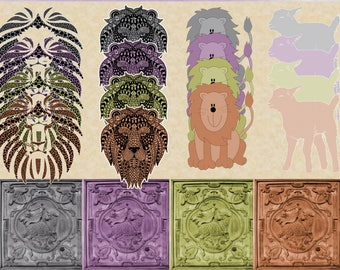 In Like a Lion, Out Like a Lamb elements pack 4