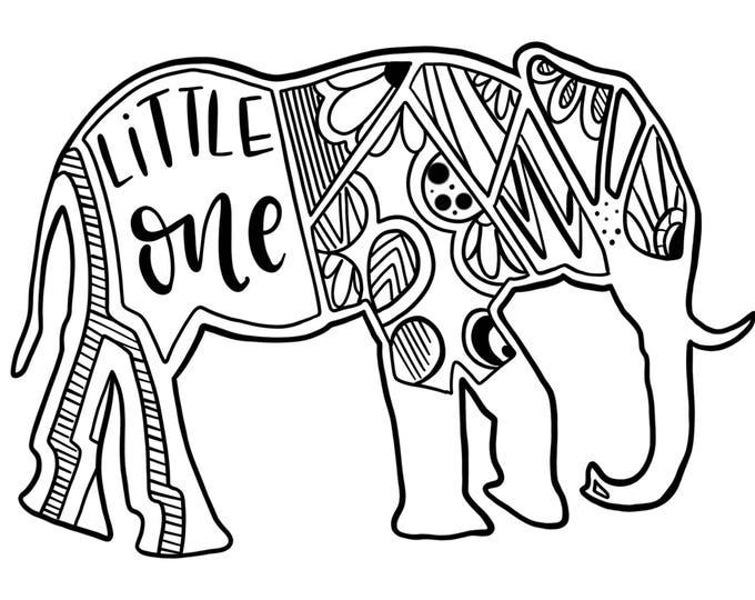 ELEPHANT PRINTABLE