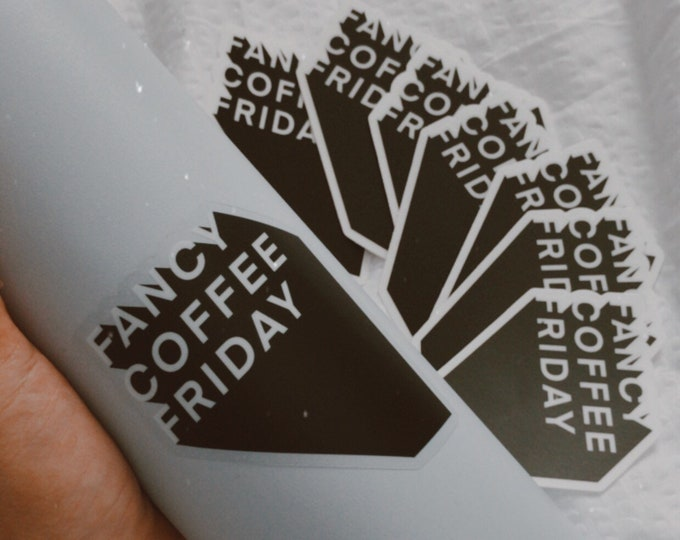 Fancy Coffee Sticker
