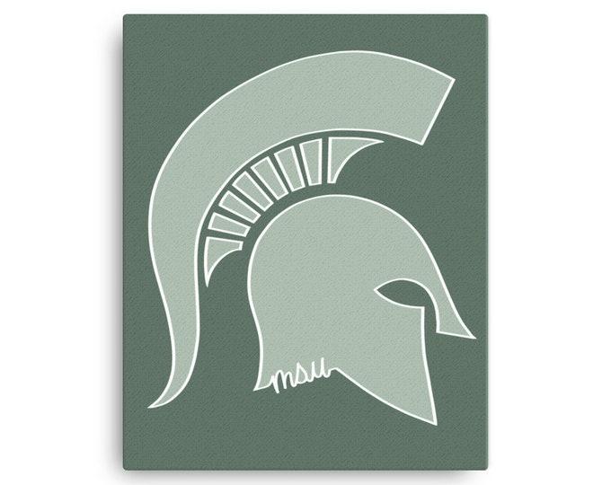 Michigan State Spartan Canvas Print