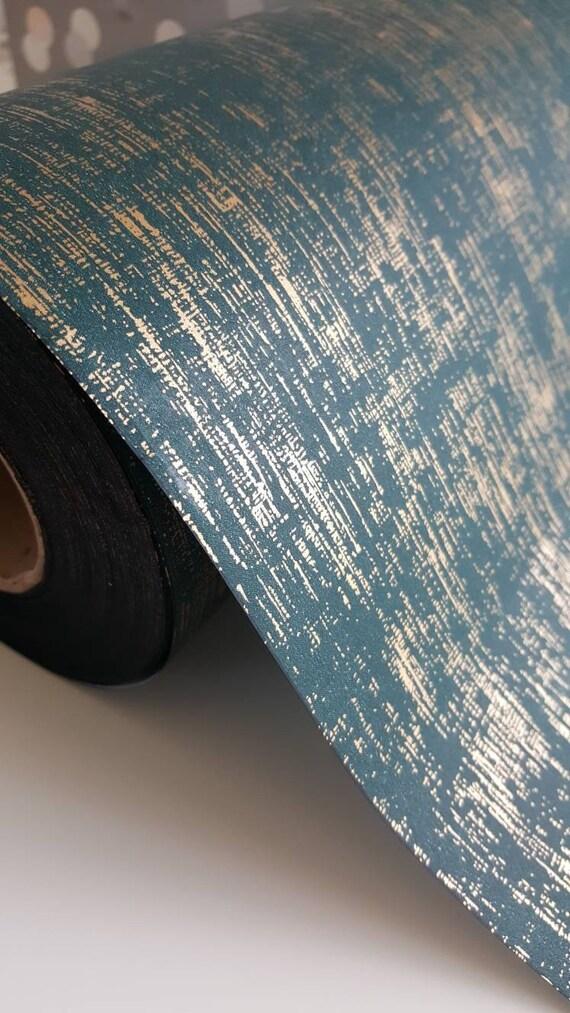 Vert Foncé Et Or Papier Demballage 80 G Métallisé Et Jade Vert Or