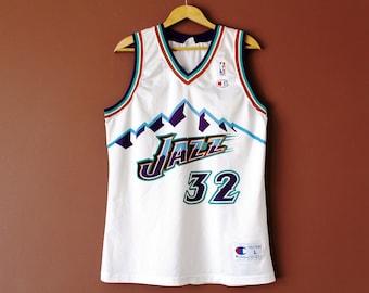 reputable site 38de1 4b4c5 Utah jazz jersey | Etsy