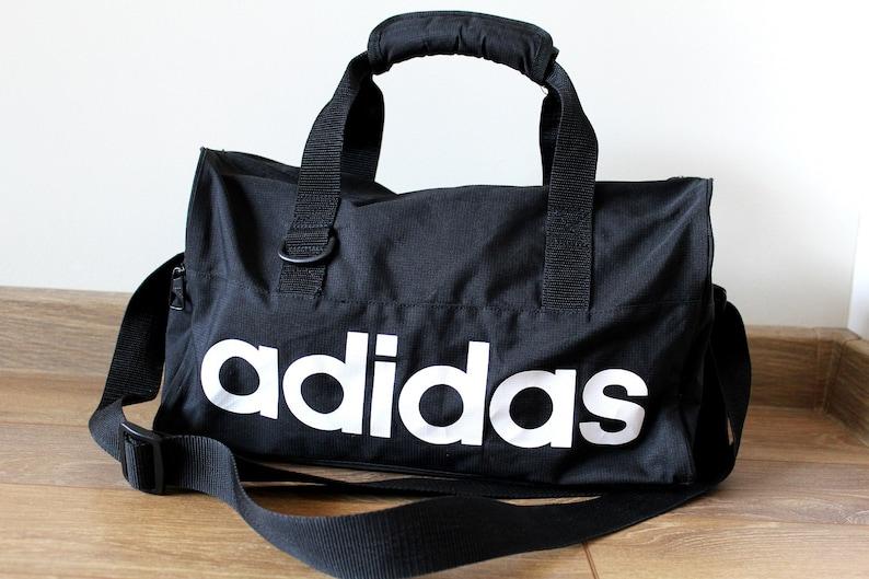 a8b24e885a44 90 s ADIDAS Bag Vintage Adidas Gym Bag Small Adidas