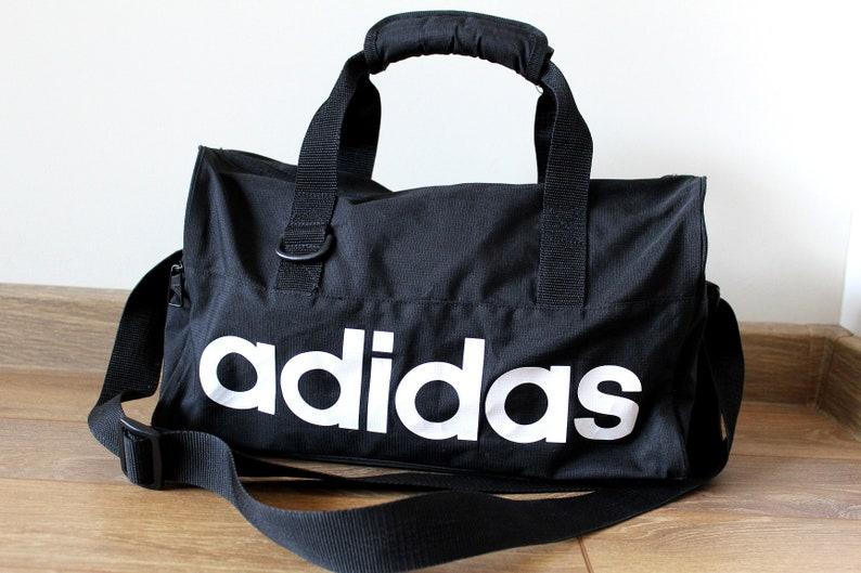 90 s ADIDAS Bag Vintage Adidas Gym Bag Small Adidas  f414782cdf16d