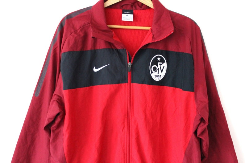 Burgundy Red NIKE Windbreaker Vintage Nike Jacket Nike  9142e5d3d
