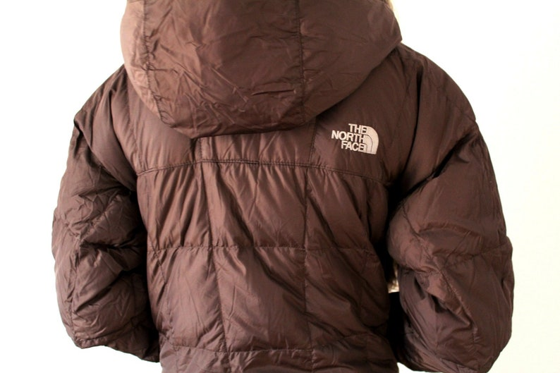 321117691 Vintage THE NORTH FACE Goose Down Jacket, 90's The North Face Puffer Brown  The North Face Parka Jacket Women's Long Winter Coat Puffa