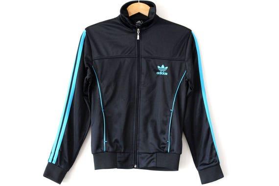 90er Jahre hüpfen ADIDAS Jacke Vintage Adidas Windbreaker   Etsy 14ce32e076