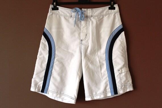 FILA Shorts, Vintage Fila Beach Shorts, Retro Fila