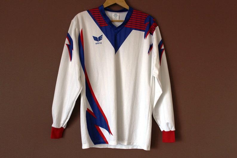 4cf73040c18 Vintage 80's ERIMA Football Shirt Trikot Retro Soccer | Etsy