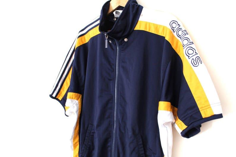 f80b7dc1aa8b Vintage ADIDAS Sweatshirt 90 s Adidas Sportswear Hip Hop