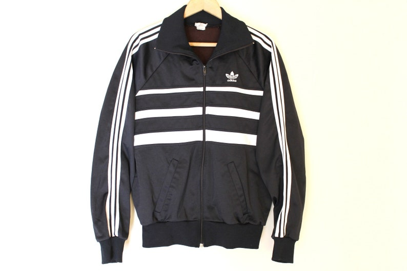 c0a3bba83a27 80 s ADIDAS Jacket Made in England Very Rare Adidas