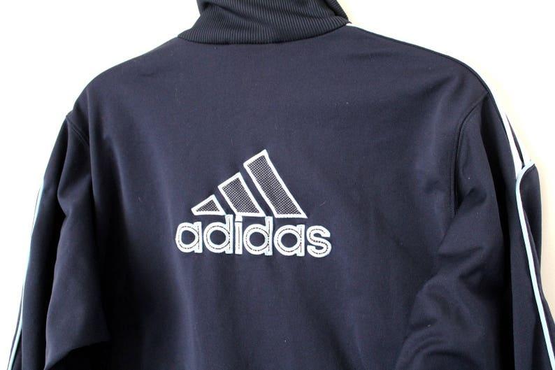 afa7cae69e04 Vintage ADIDAS Tracksuit 90 s Adidas Track Jacket Rare