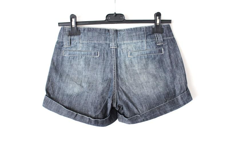 W 26 Women/'s Denim Shorts Size 24 Blue Jeans Vintage Jeans Shorts Hip Hop Streetwear Girls Jeans Shorts Low Waist