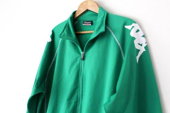 Vtg Kappa Large Track Pants top zip up sweater tracksuit shirt hat