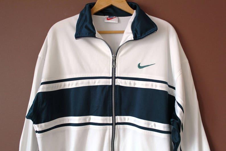 b4b01ab63484 90 s NIKE Jacket Vintage Nike Windbreaker Large Nike