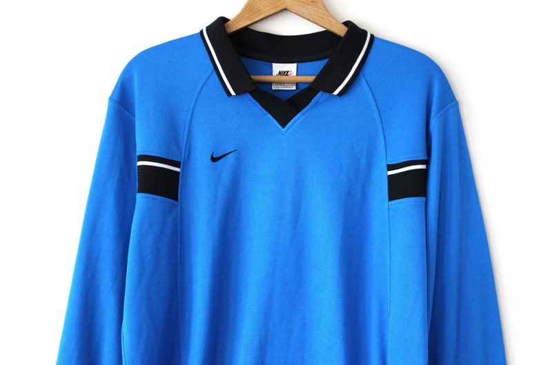 72cb8871410 Very Rare 80 s NIKE Football Shirt Made in Portugal