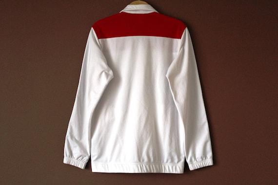 S ' Veste Sweat Vintage Adidas Rouge Blanc 90 708wszaq0 tRfOqwt