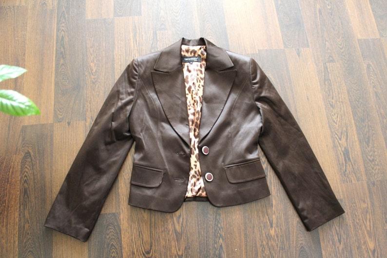 Made Pour FemmeItalien In VesteMarron Gino Blazer Italie VêtementsCadeau Femme Angelli Vintage ElleVeste CexBord