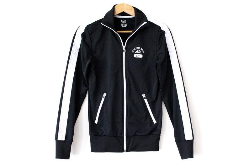 e9c8b4b88ddb Vintage NIKE Jacket 90 s Nike Windbreaker Black White