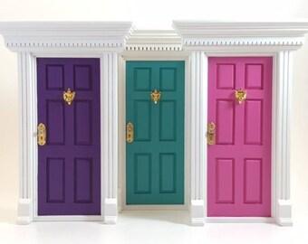 3 Fairy Door Bundle - Any colour combination