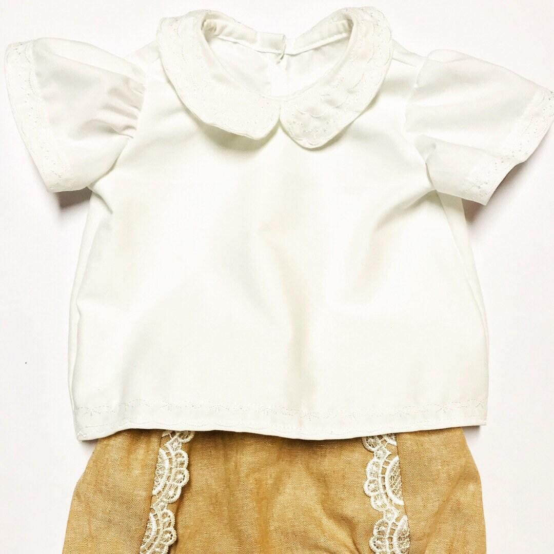 b3ebcb6c9 White Peter Pan Collar Blouse Baby | Kuenzi Turf & Nursery