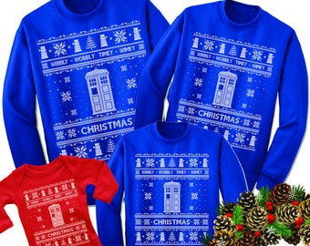 Doctor Who Sweater Etsy