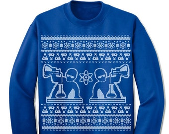 Science Ugly Sweater. Gift for Scientist. Merry Christmas. Christmas Sweatshirt. Ugly Christmas Sweater. Party. Lab.