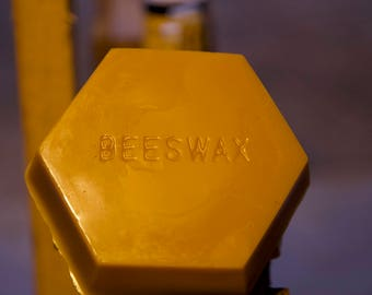 1 Pound Filtered USA Yellow Beeswax