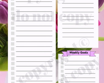 Floral Print Planner Sheet Monthly To Do List Planning Goals Organize