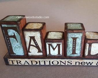 Family Traditions Blocks (FAM101-GR)